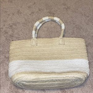 NWOT Altru made for good straw bag